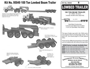 KIT-NO-95049-LOW-BED-TRAILER